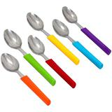 OXONE Rainbow Spoon Set [OX-602] - Sendok Makan